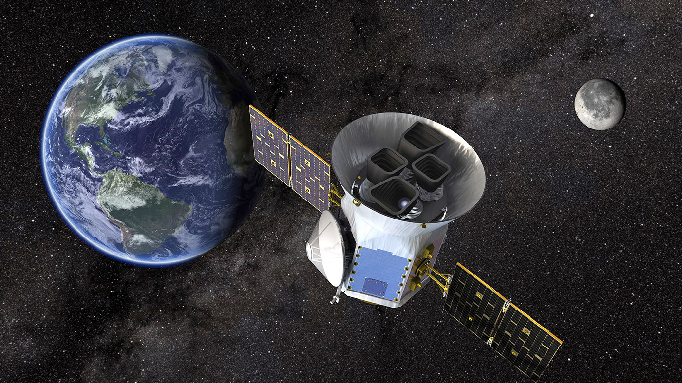 NASA's new satellite will look for Earth-sized planets nearby