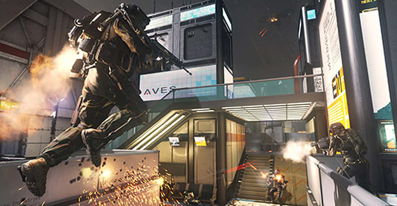 Seven minutes of Call of Duty: Advanced Warfare multiplayer