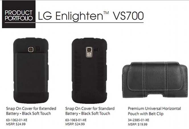 Verizon to rebrand the LG Gelato Q as the Enlighten? (Update: images and full specs)