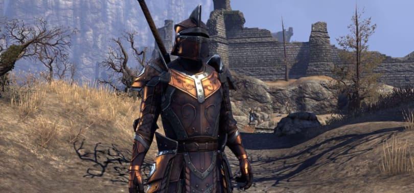 Let's all dye our armor black in The Elder Scrolls Online
