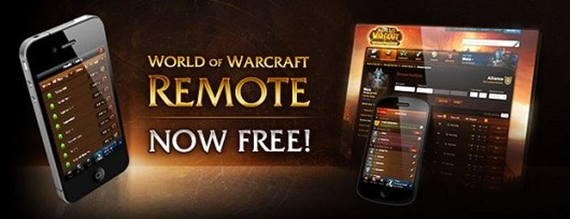 World of Warcraft mobile app now offers all services for free