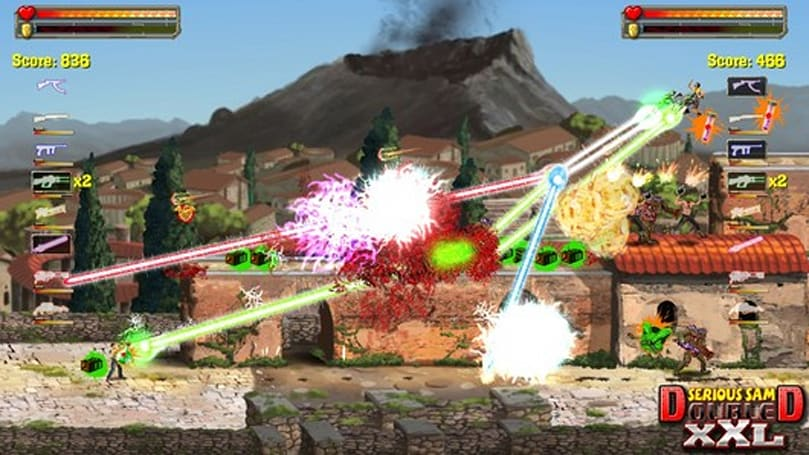 Serious Sam 3: BFE, Serious Sam Double D XXL run screaming to XBLA this fall