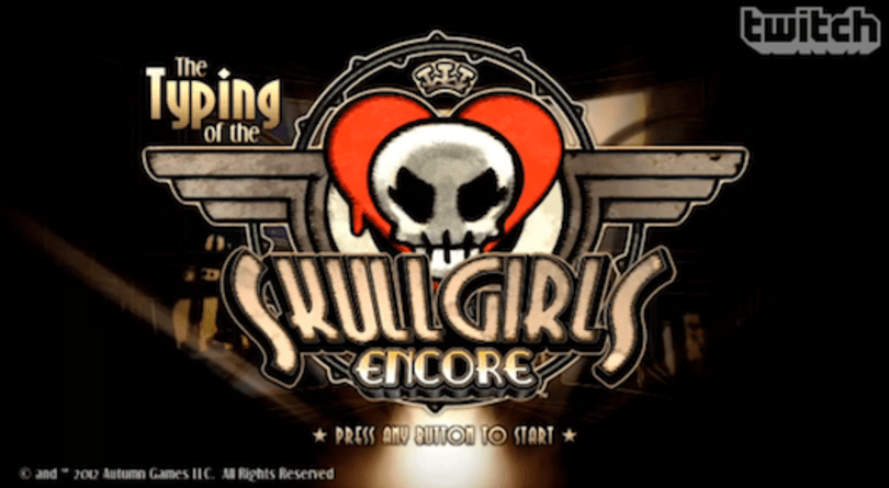 Skullgirls Encore to include 'The Typing of the Skullgirls Encore'