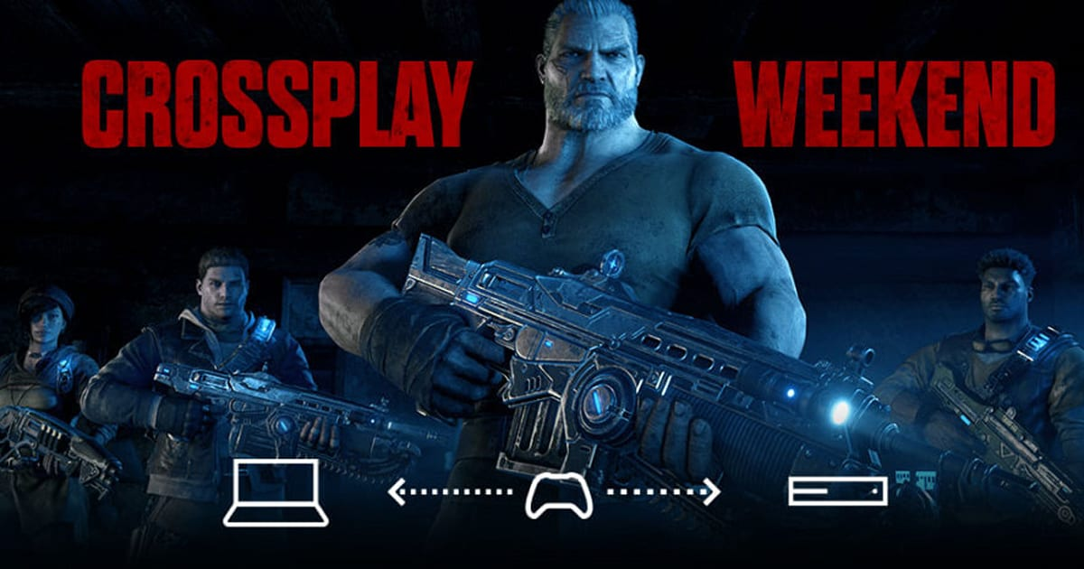 'Gears of War 4' gets cross-platform multiplayer this weekend