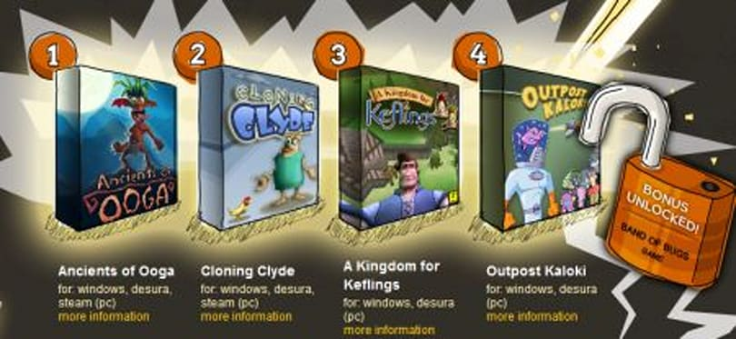 Indie Royale offers up five NinjaBee titles for PC at one low price
