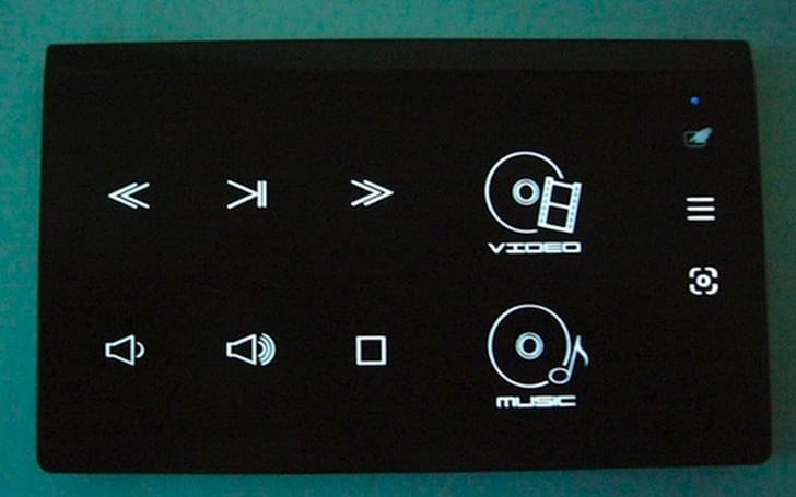 Acer touch pad /  Media Center remote surfaces at the FCC