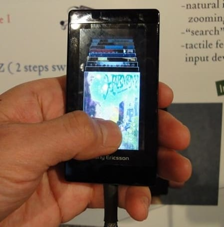 Sony prototypes pressure-sensitive tactile touchscreen, hopes to use it ASAP