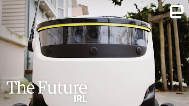 Fully automated deliveries via robot | The Future in Real Life