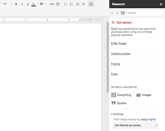 Google Docs gets new Research tool, lets you search without leaving your work