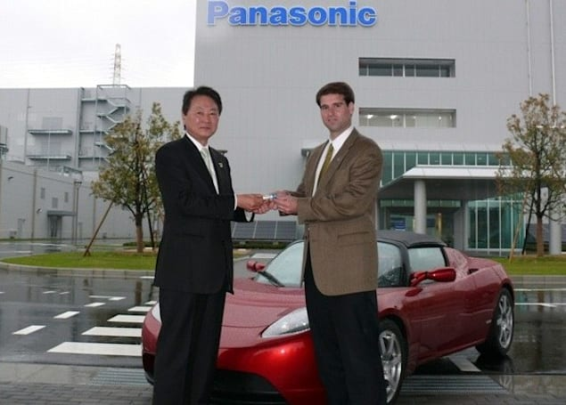 Panasonic's 3.1Ah batteries to be used in the Tesla Model S, have highest energy density yet