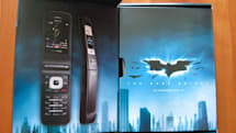 "Hands-on with Verizon's Nokia 6205 ""The Dark Knight"" edition"