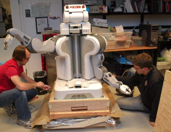 Willow Garage now selling the PR2 for $400k a pop
