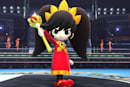 WarioWare's Ashley is an assist trophy in Super Smash Bros.