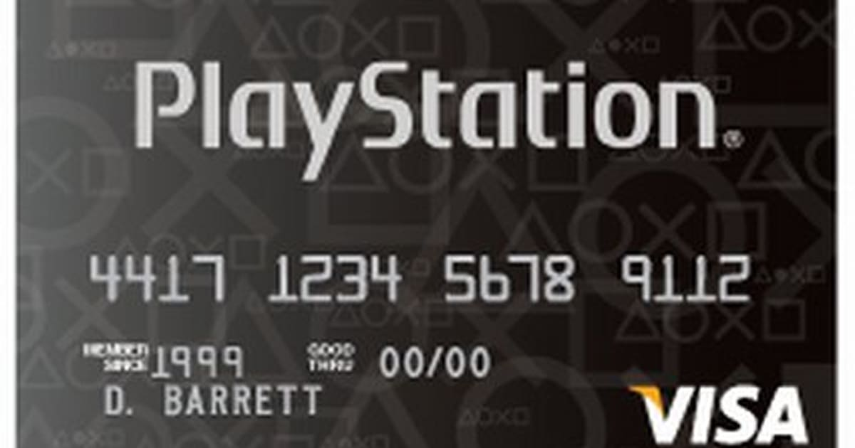 Get Off The Playstation 3 : Get a playstation credit card off ps purchase