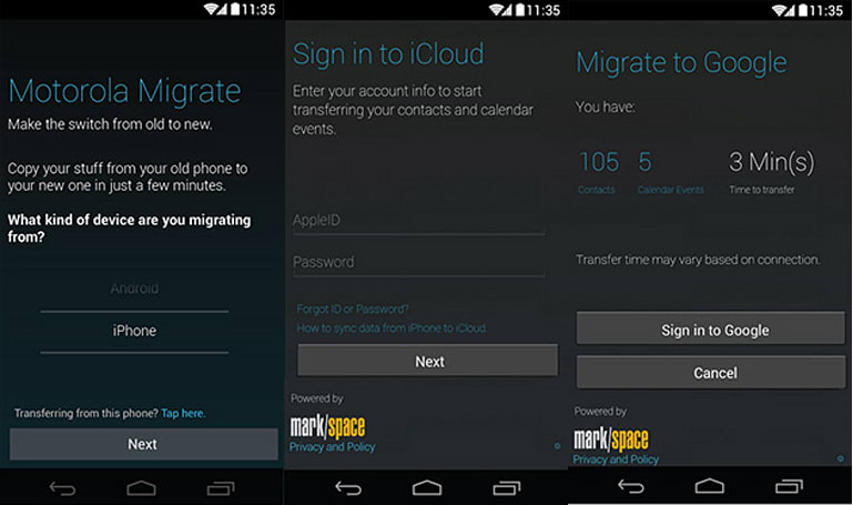 Motorola Migrate can now shepherd iOS users (and their data) to a new life on Android