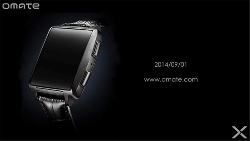 Omate's next smartwatch is all about fashion without the premium (update: touchscreen confirmed)