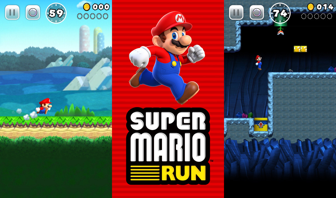 super Mario run nintendo