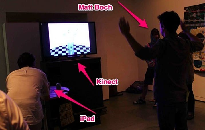 'Pxl Pushr' blends Kinect and iPad play to impressive, multicolor results