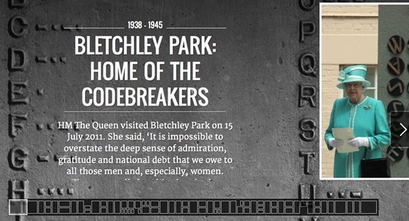 Google brings Bletchley Park to its Cultural Institute (video)