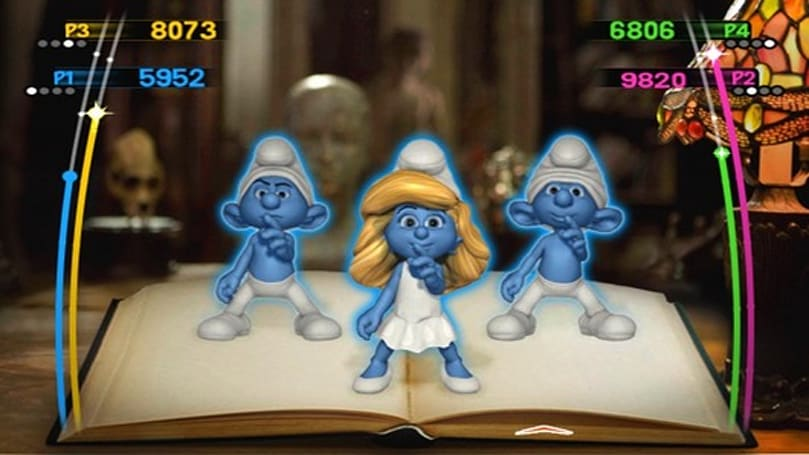 The Smurfs Dance Party getting down this July