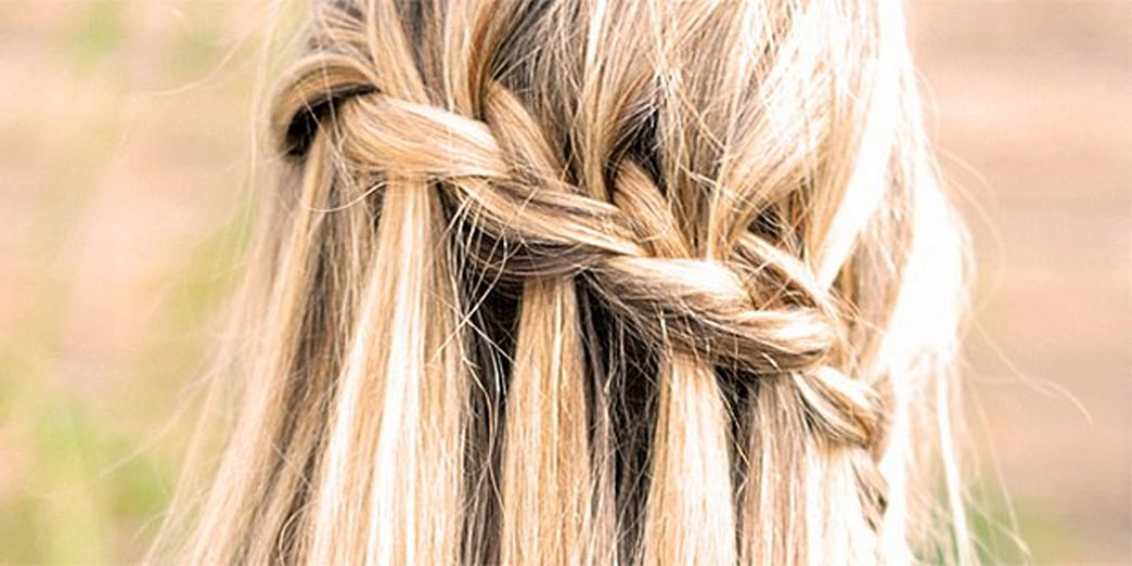 Twist Your Strands into a Waterfall Braid
