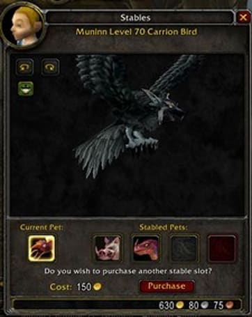 More stable slots now available on Wrath Beta