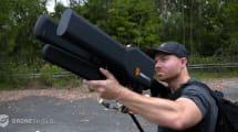 DroneGun: Drohnen-Abwehr-Kanone mit 2 km Reichweite