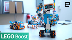 Lego Boost teaches kids how to bring blocks to life with code