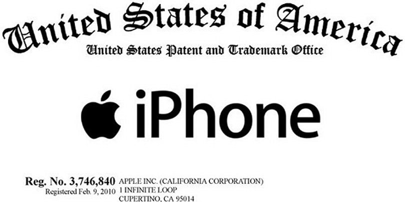 Apple locks down iPhone trademark, includes 'electronic games' category