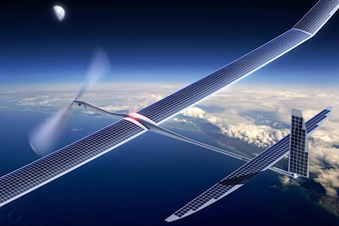 Google's solar plane crashed earlier this month in New Mexico