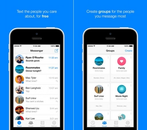 Facebook Messenger on iOS expands to include groups and forwarding