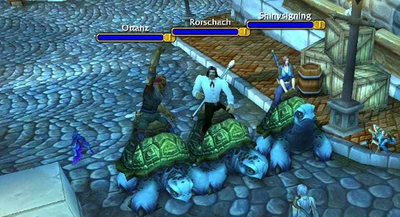 Sea Turtles currently rideable by level one characters!