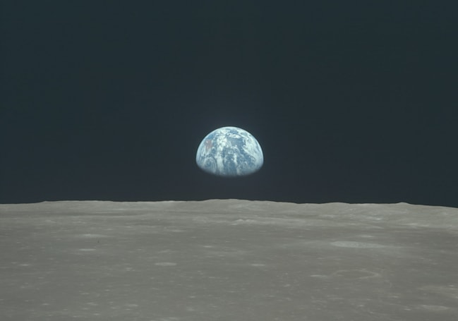 The moon may have formed from a group of smaller moonlets