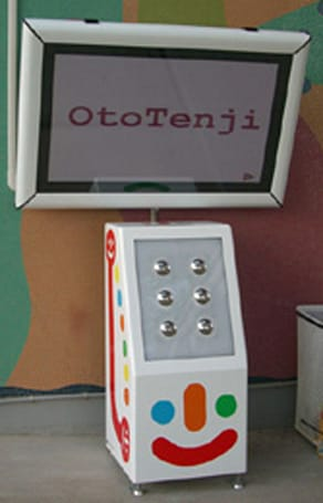 OtoTenji interactive display teaches you Braille