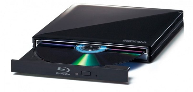 Buffalo serves up USB-powered portable 3D Blu-ray player in Japan
