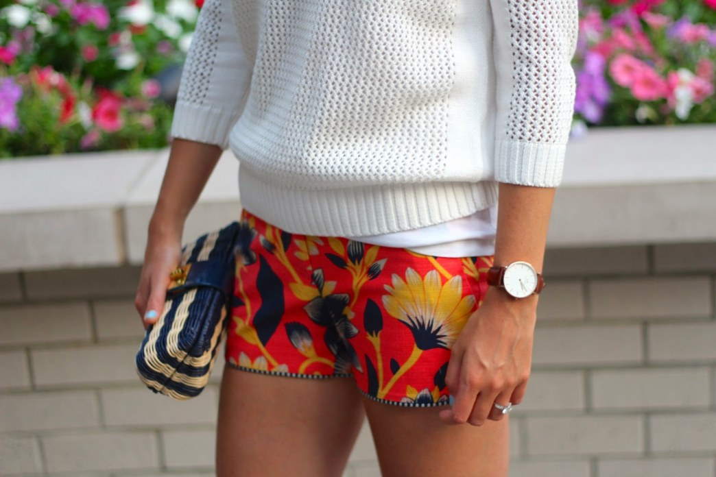 A pair of printed shorts you'll want to wear right now
