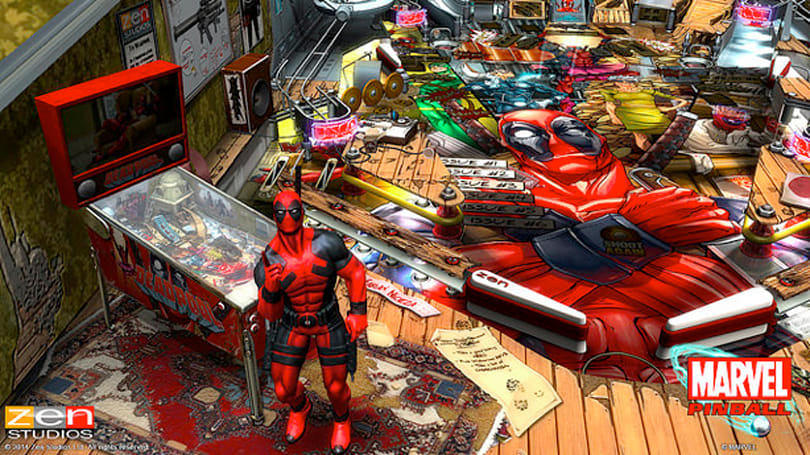 Deadpool makes splash in Zen Pinball next week