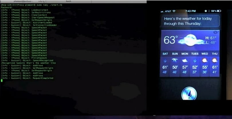 Developer creates proxy server for Siri, controls thermostat with his voice (video)