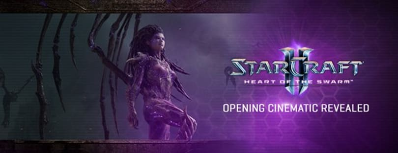 StarCraft II: Heart of the Swarm cinematic revealed