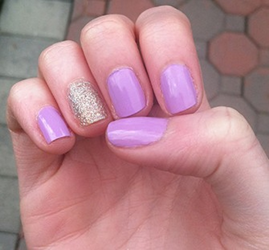 Mani Monday: Every Girl Loves a Hint of Sparkle