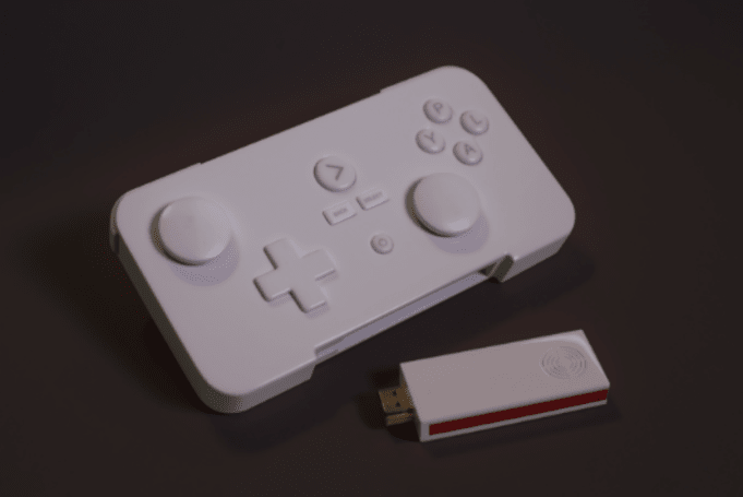 GameStick Android console is the size of a USB stick
