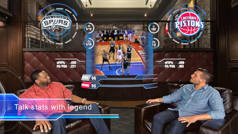 The NBA made an original show for Google's Daydream VR platform