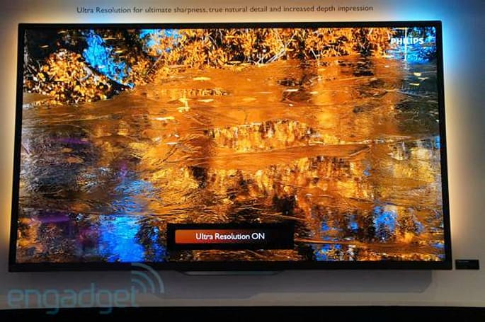 Philips 9000 series 4K TVs eyes-on (Update: now with video)