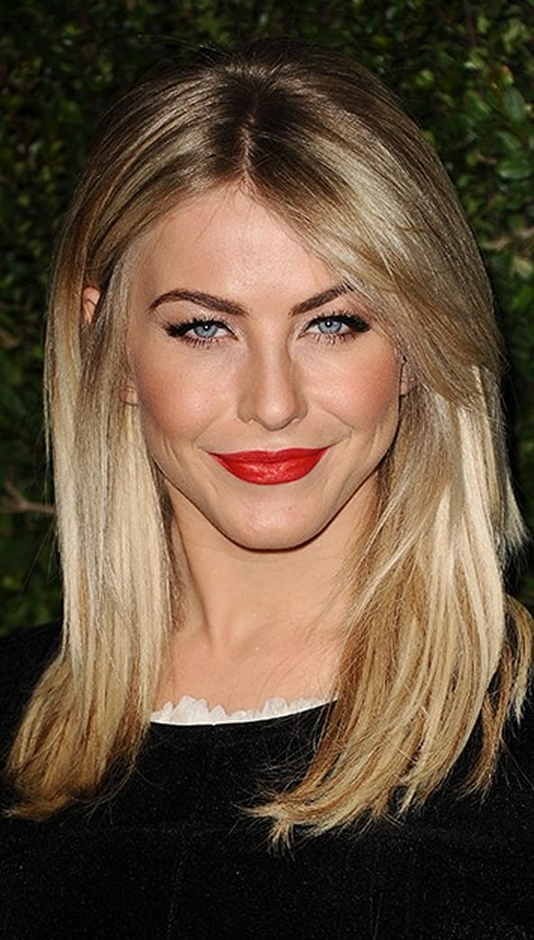 Look of the week: Julianne Hough's seriously stunning red lipstick
