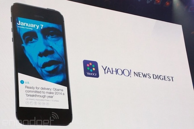 Yahoo launches UK edition of its News Digest iOS app