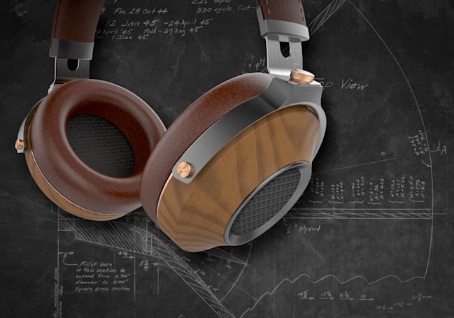 Klipsch Heritage headphones mix leather, wood and quality sound