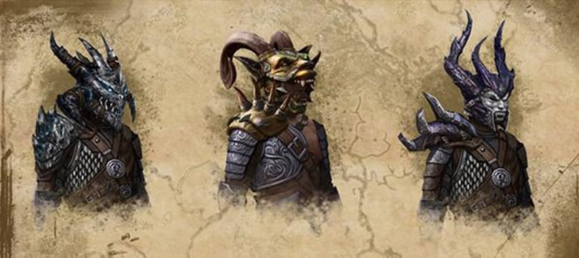 Elder Scrolls Online is getting some scary monster face hats