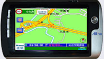 Altina's A680 GPS navigator features AV input, digital camera