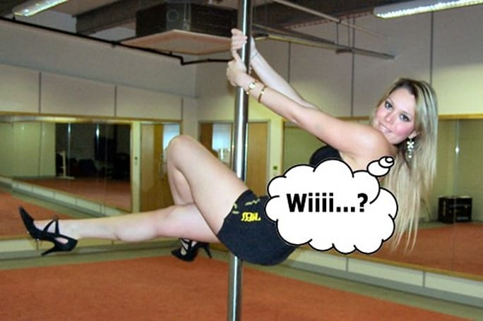 Wii pole dancing plans confirmed, fitness to blame