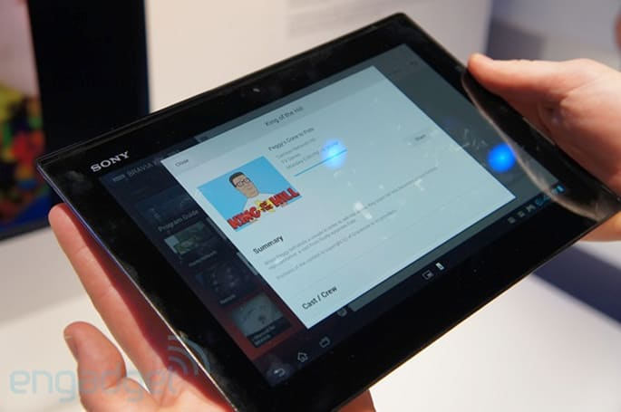Sony SideView hands-on (video)
